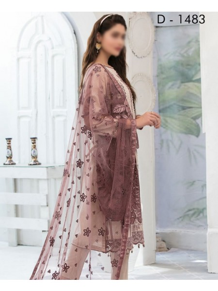 TAWAKKAL In Vogue Embroidered Luxury Jacquard Lawn Collection D-1483