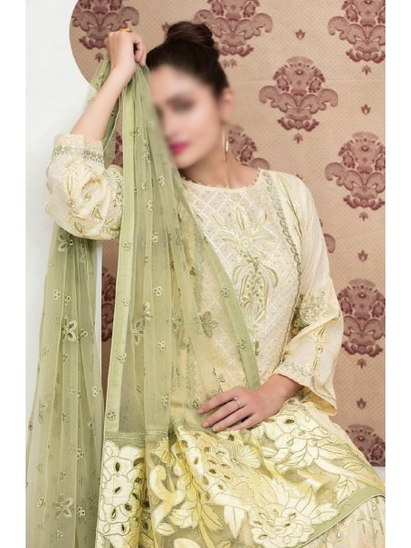 TAWAKKAL In Vogue Embroidered Luxury Jacquard Lawn Collection D-1486
