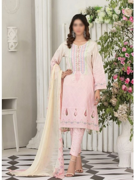 TAWAKKAL Raqami Digital Print And Embroidered Lawn Collection D-1606