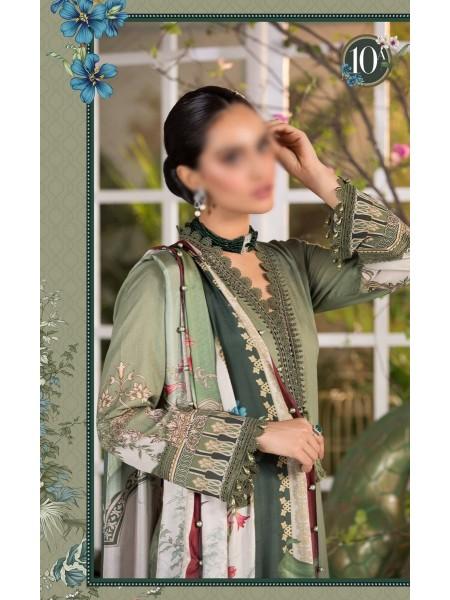 MARIA B MPRINT Unstitched EID II Collection D-10A
