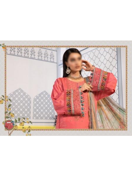 MARIA B MPRINT Unstitched EID II Collection D-7A
