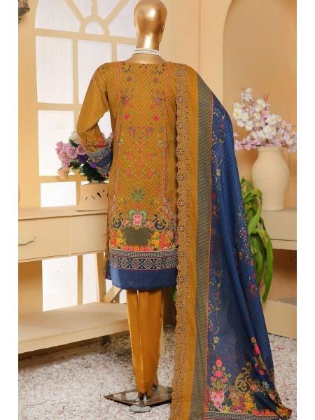 Sadabahar Eid festive stitched collection D-ST 4824 GOLDEN