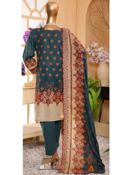 Sadabahar Eid festive stitched collection D-ST 4856 K Green