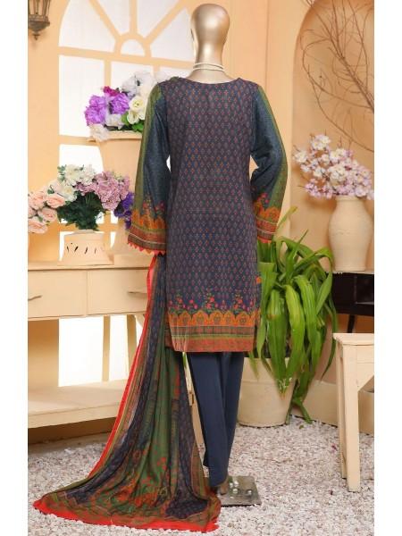 Sadabahar Eid festive stitched collection D-ST 4884 BLUE