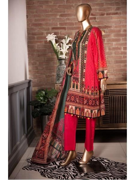 Sadabahar Festival Pretty Wear 3 PCS Stitched Collection 2021 D-ST 4830 MAHROON