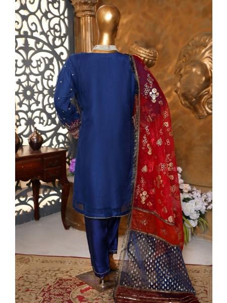 Sadabahar Festive Formal Collection 2021 Vol 1 D-M3 blue