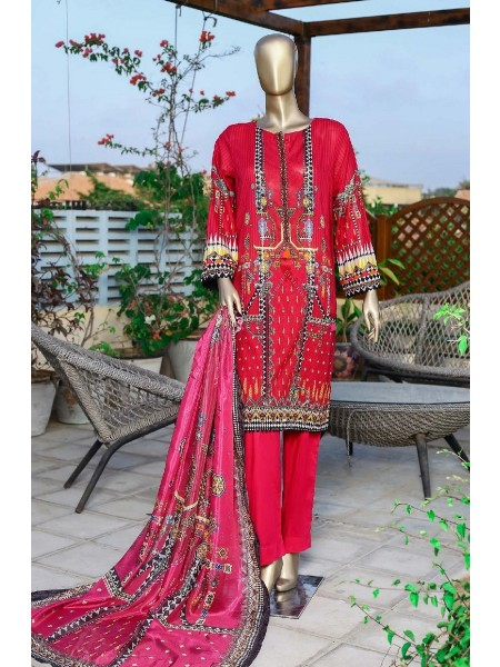 Sadabahar Printed and Embroidered Collection D-05