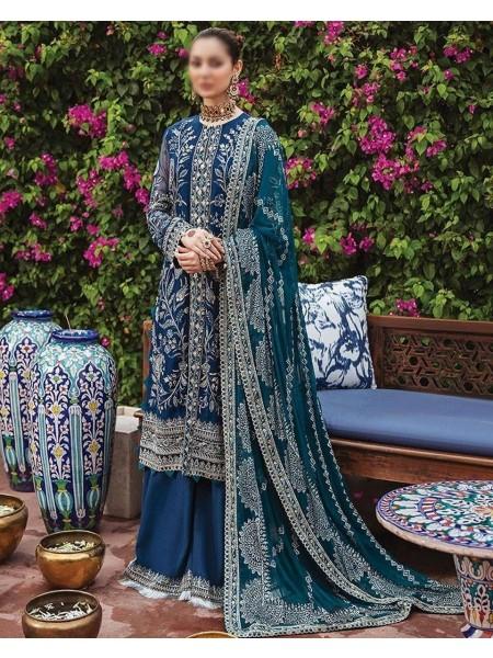 Afrozeh Shehnai Wedding Formals'21 D-08 Laajwardi