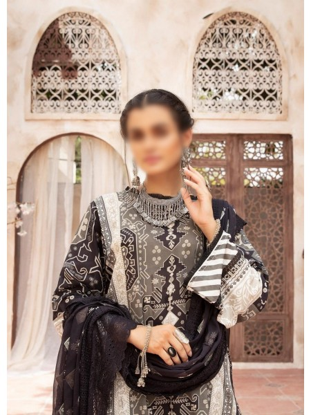 RIAZ ARTS Mahees Black and White Collection D-04