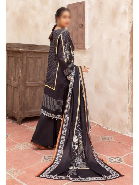 RIAZ ARTS Mahees Black and White Collection D-06