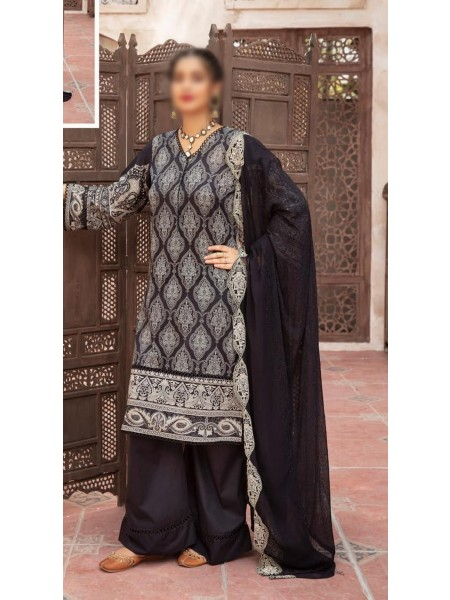 RIAZ ARTS Mahees Black and White Collection D-09