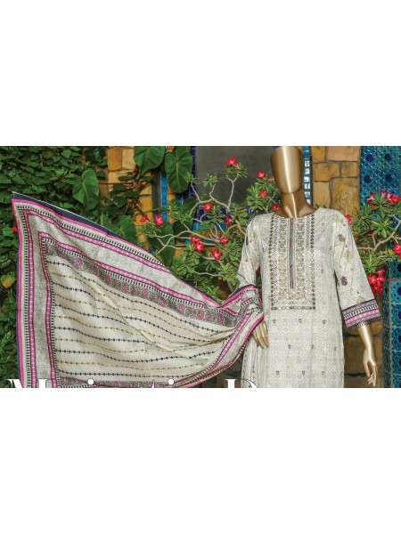 SUNTEX Oswah Stitched Digital Print and Embroidered Lawn Collection D-OS-2149K