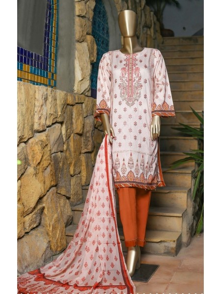 SUNTEX Oswah Stitched Digital Print and Embroidered Lawn Collection D-OS-2150K