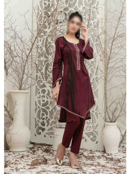 TAWAKKAL Malhun Tie & Dye 2 piece collection D-1839