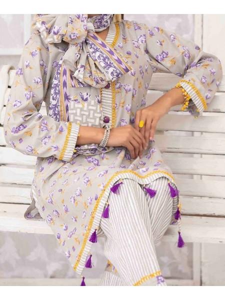 Amna Khadija Wrinkle Free Prints Vol-03 D-AK 121