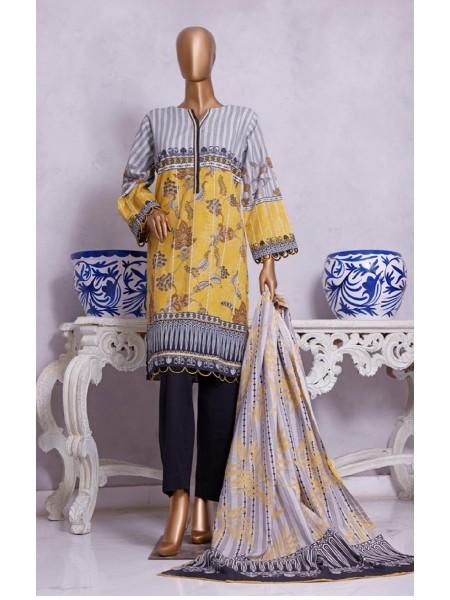 Bin Saeed Winter Khaddar Collection D-08
