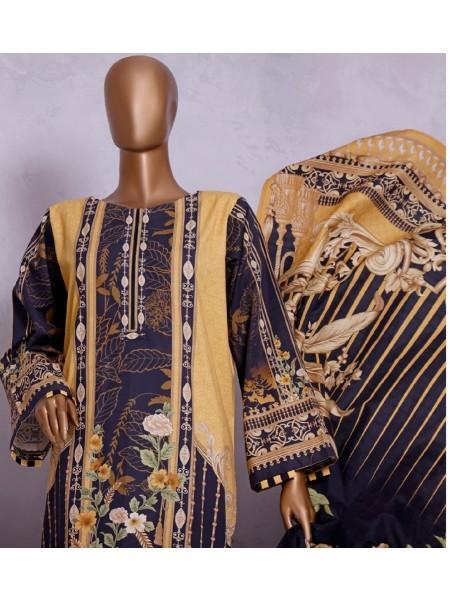 Bin Saeed Winter Khaddar Collection D-12