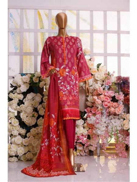 Bin Saeed Winter Printed Jacquard Collection D-15
