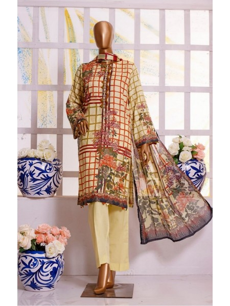 Bin Saeed Winter Printed Jacquard Collection D-17