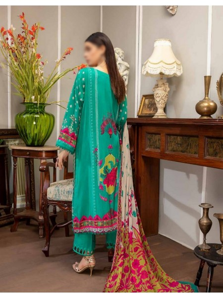 Embroidered Linen Masoori Collection Chap 01 D-BR 05