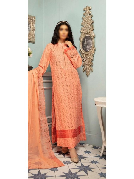 JOHRA Pehnawa Schiffli Embroidered Lawn Collection D-JR 890