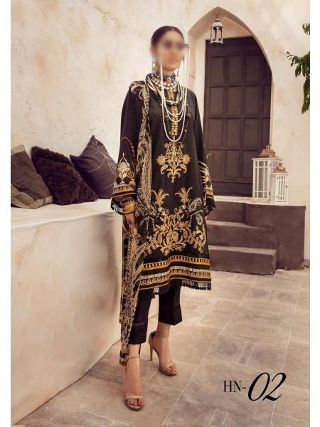 NUR Husn- E-Jahan Printed Viscose Collection D-HN 02