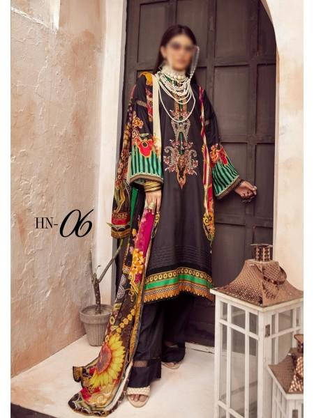 NUR Husn- E-Jahan Printed Viscose Collection D-HN 06