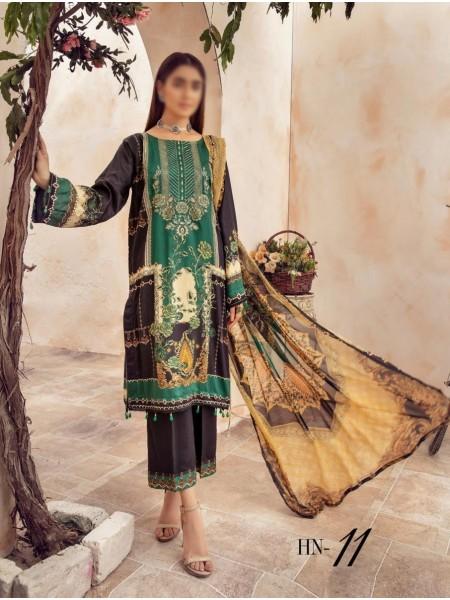 NUR Husn- E-Jahan Printed Viscose Collection D-HN 11
