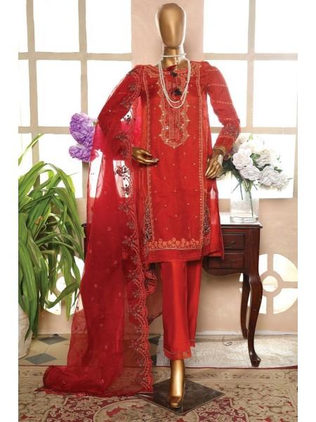 Sadabahar 2 Piece Formal Pret Wear Vol-02 D-GL 05 Red