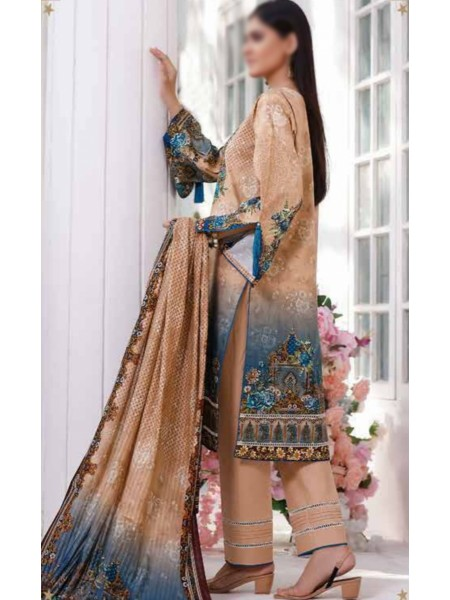 Saleem Textile Roshni Printed Cambric Collection D-RC 787 A