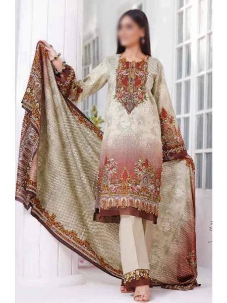 Saleem Textile Roshni Printed Cambric Collection D-RC 787 B