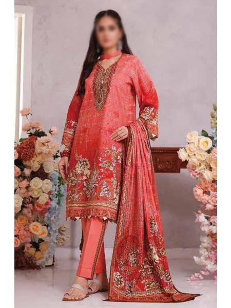 Saleem Textile Roshni Printed Cambric Collection D-RC 788 B