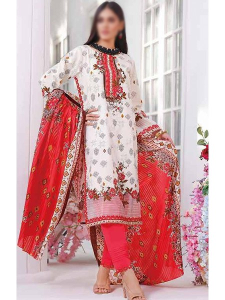 Saleem Textile Roshni Printed Cambric Collection D-RC 794 A