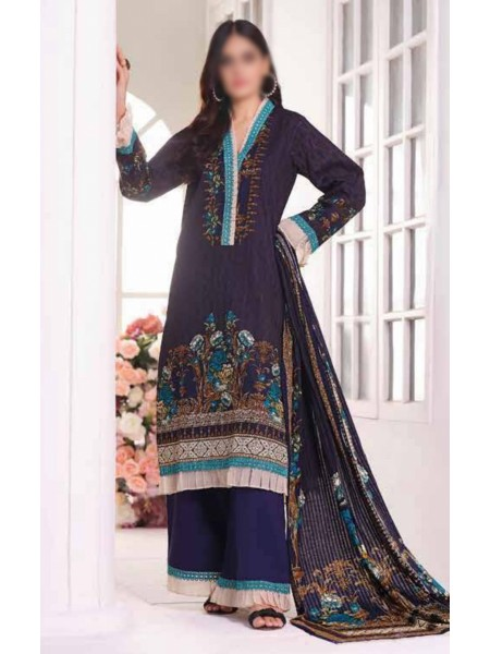 Saleem Textile Roshni Printed Cambric Collection D-RC 795 A