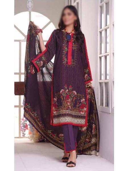 Saleem Textile Roshni Printed Cambric Collection D-RC 795 B