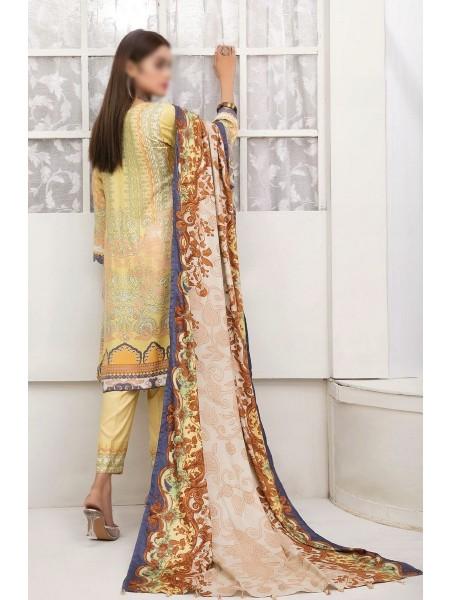 TAWAKKAL Amna Sohail's Dilara Linen Digital Print Collection'21 D-1991