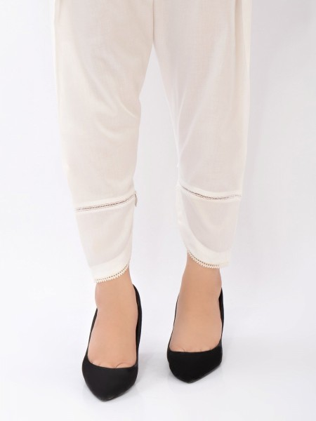 Edenrobe tights and trousers EWBP21-76303 - Off White