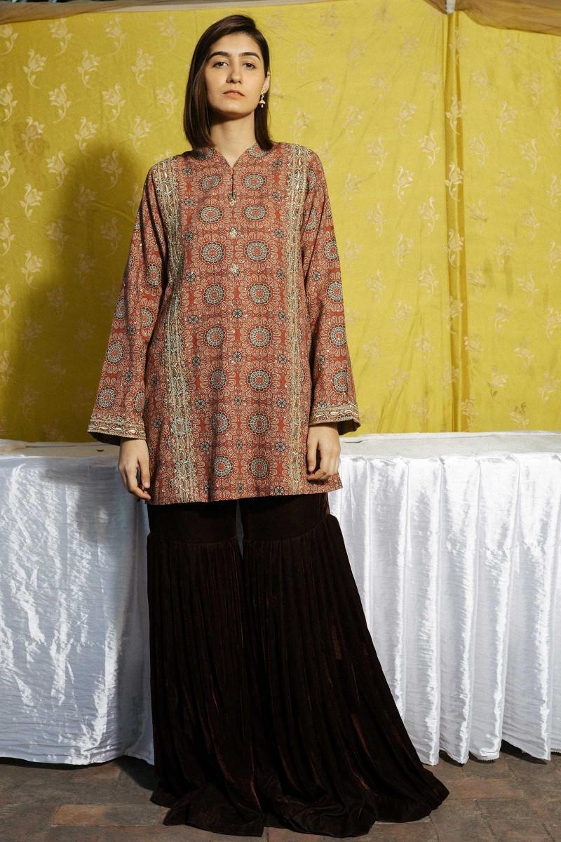 Zara Shahjahan Areera Spring Collection Zc 1489