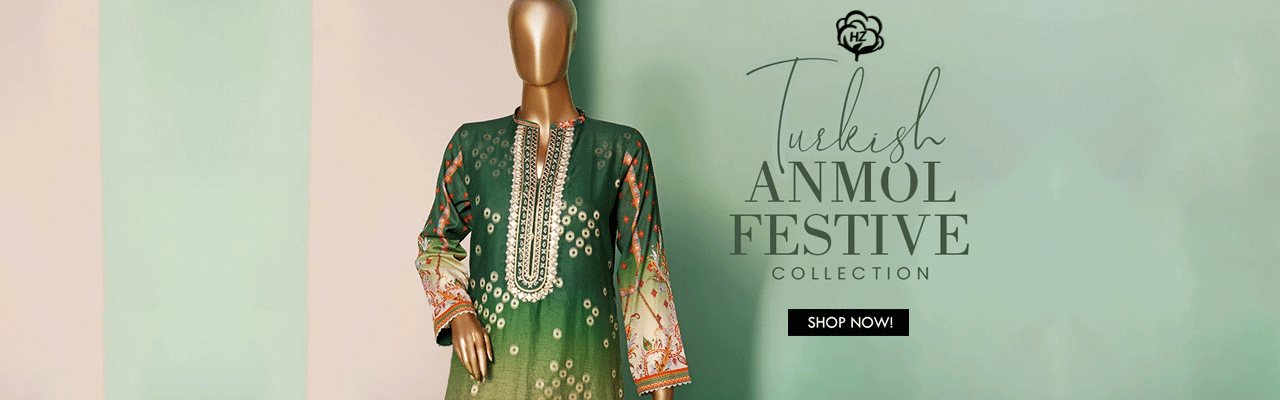 HZ TEXTILE TURKISH ANMOL JACQUARD EMBROIDERED COLLECTION