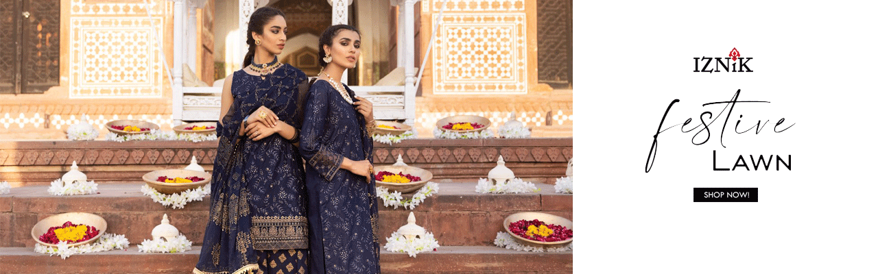 Iznik Eid Festive Lawn Collection