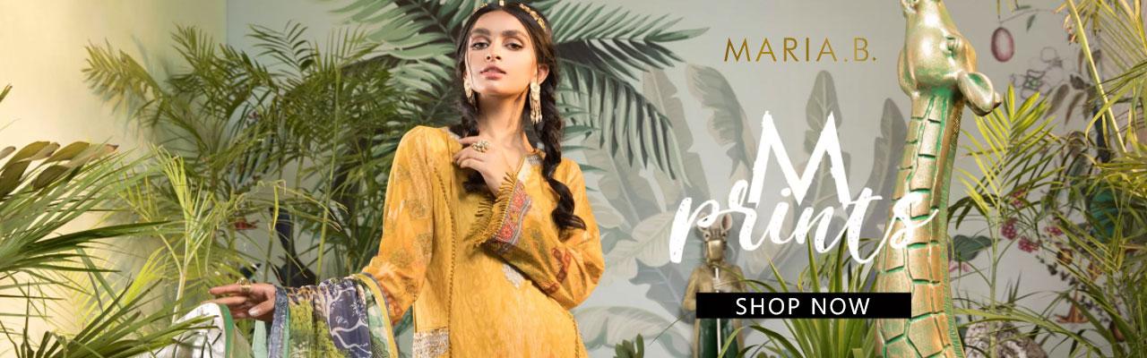 MARIA B MPRINT Unstitched EID II Collection