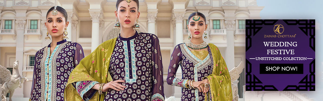 Zainab Chottani Wedding Festive Collection 2020