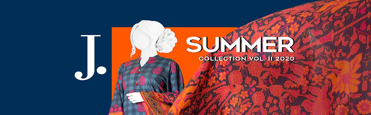 Junaid Jamshed Summer Collection Vol2