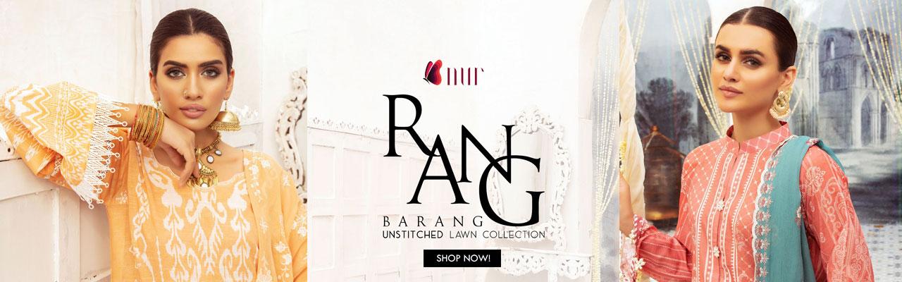 NUR Rang Nagar Printed 2 Piece Collection