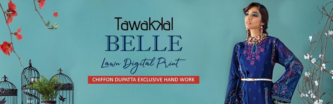 Tawakkal Belle Lawn Digital Print