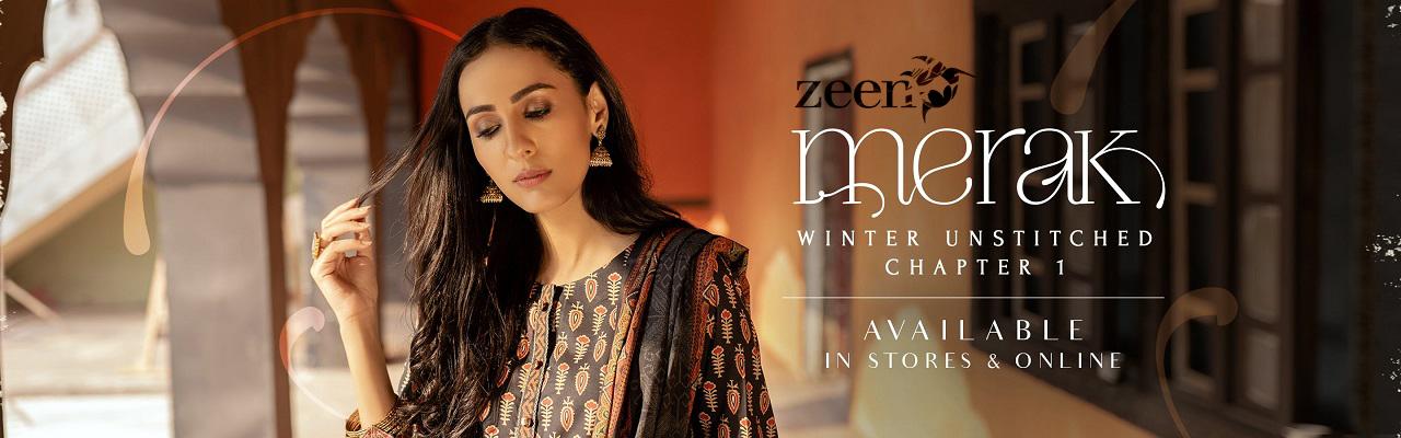 Zeen Woman Merak Winter Unstiched